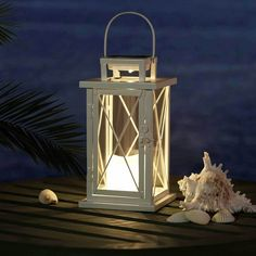 A stylish yet classic must-have patio light, now solar powered with LED lights. #thepatiodepot