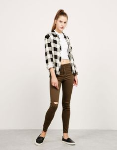 High Waist - Jeans - NEW COLLECTION - MUJER - Bershka Mexico
