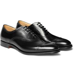 Shop men's brogues at MR PORTER, the men's style destination. Discover our selection of over 400 designers to find your perfect look. Oxford Brogues, Oxford Shoes, Men Dress, Dress Shoes, Sharp Dressed Man, Men S Shoes, Leather Shoes, Me Too Shoes, Black Shoes
