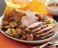 Day One: Roast Pork & Pan-Roasted Potatoes