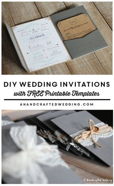 cool diy wedding invitations best photos