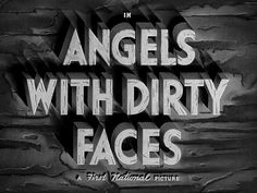 Typography...With Dirty Faces?