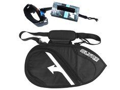 Slyde handboard bodysurfing boardbag and Bicep Leash Pack