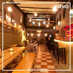 Discovering new friends and new bars in town with VIENO. Drinking Every Night, Cool Bars, New Friends, Restaurant, App, Home, House, Restaurants, Apps