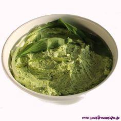 Bärlauch-Butter - Rezept leckere Bärlauch-Butter - ideal zum Grillen vegetarisch glutenfrei