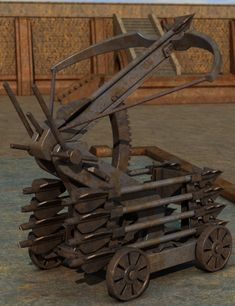 Siege-Ballista w/ High-Angle Mount.