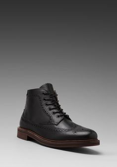 H by Hudson Hemming Calf in Black