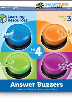 Gameshows are one of the most entertaining TV specials, which is why the Gameshow Response Buzzers set allows children to create their very own one!#educationaltoys #learningthroughplay #playbasedlearning #babytoys #mainananak #mainanbayi #toys #toy #baby