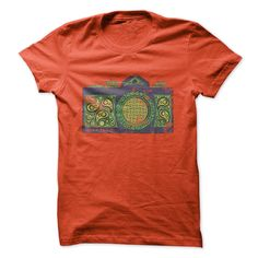 Psychedelic Camera T-Shirts, Hoodies. BUY IT NOW ==► https://www.sunfrog.com/Geek-Tech/Psychedelic-Camera.html?41382