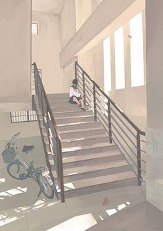 Illustration Art Girl Anime Colour New Ideas Aesthetic Anime, Aesthetic Art, Stock Design, Bts Art, Wallpaper Animes, Art Anime, Anime Scenery, Jolie Photo, Noragami