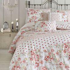 Jessica Simpson Marilyn Vintage Floral Comforter Set - BedBathandBeyond.com... So Pretty :)