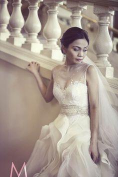 Wedding Dress of the Week: Veluz - Munaluchi Bridal Magazine Designer Wedding Dresses, Bridal Dresses, Flower Girl Dresses, Chic Wedding, Wedding Styles, Dream Wedding, Wedding Poses, Wedding Ideas, Wedding Stuff