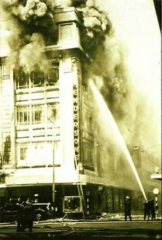 Hendersons Fire - Liverpool 1960, a tragic day for Liverpool, the loss of so many lives and an iconic building.