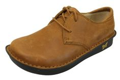 Alegria Bree Cognac Nubuck from Alegria Shoe Shop - now on closeout!