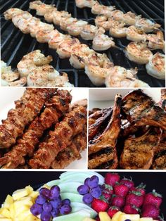 BBQ Special!   Packages start at $24.99  3AAA Ribeye Beef Skewers Shrimp Skewers Ontario Lamb Chops +  Mac & Cheese Bites  Fruit Platter  info@pepperjazz.ca 647-298-6059