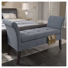 Sensational Have To Have It The Livingston Storage Bench 129 98 Squirreltailoven Fun Painted Chair Ideas Images Squirreltailovenorg