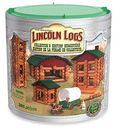 Housewife on a Mission: Lincoln Logs Collectors Edition Homestead Giveaway!   2014 Holiday Gift Guide
