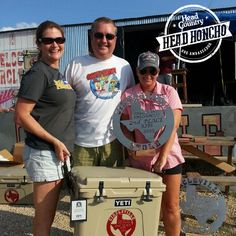 Congrats to Salty Brine BBQ — official Head Country Head Honchos — for finishing 2nd place at the Taylor Int. BBQ Cookoff in Texas using Head Country this weekend! #headcountrybbq #bbq