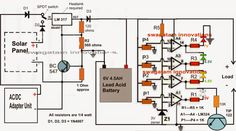 In this post we discuss a simple 6V solar battery charger circuit with an automatic cut-off feature using 4 way LED indication, and an overcurrent protection. The system can be operated through a solar panel or via an AC/DC mans adapter unit. The idea was requested by Mr. Bhushan Trivedi. The Request Dear Swagatam, Greetings, …