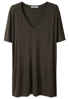 T BY ALEXANDER WANG /  CLASSIC T WITH POCKET