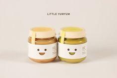 Little Yumyum Baby food Packaging on Behance