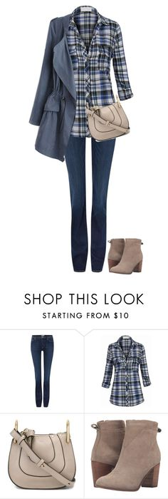 """""""Untitled #1090"""" by tracileigh01 ❤ liked on Polyvore featuring Hudson Jeans, Chloé and TOMS"""