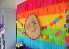 Looking to dream over a bright party theme? Kara's Party Ideas presents a Colorful Fiesta Birthday Party that is mucho bonita! Fiesta Theme Party, Taco Party, Fiesta Party Decorations, Mexican Birthday, Mexican Party, Spanish Party, Backdrops For Parties, 1st Birthday Parties, Theme Parties
