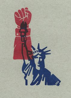 Graphic designer Milton Glaser is encouraging Americans to head to polling stations and vote in this year's presidential election with a colourful poster Protest Kunst, Protest Art, Protest Posters, Political Posters, Political Art, Voting Posters, Political Images, Political Campaign, Graphic Design Posters