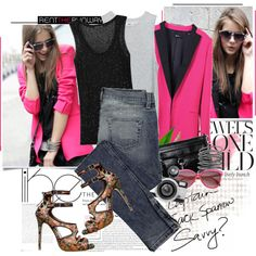 WearPink, created by bklana.polyvore.com