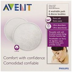 These soft, cotton nursing pads prevent staining while adding comfort for breastfeeding mothers. They are machine washable and dryable and includes laundry bag. Phillips Avent, Nursing Pads, Medical Problems, Soft And Gentle, Medical Advice, Happy Kids, Baby Feeding, Breastfeeding, Brand Names