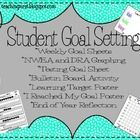 This Goal Setting Packet includes a weekly goal setting sheet, DRA and NWEA goal setting sheet and graph, 2 posters, bulletin board activity and end of year reflection!