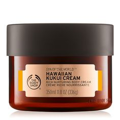 Crème au kukui d'Hawaii Spa of the World, de The Body Shop - Les prix beauté ELLE International 2017