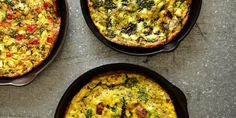 A master frittata recipe, and six ways to customize it for breakfast, lunch, or dinner.