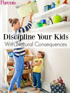 Prevent power struggles without being the bad guy by letting your child learn from the natural consequences of his own actions. #NaturalParenting