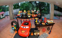 Festa infantil com tema 'Carros' no 'Fazendo a Festa' - Fazendo a Festa - GNT
