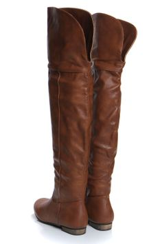FASHION MARKET: Gia Tan Leather Look High Leg Wader Boots