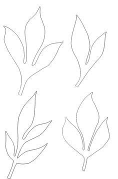 Art-KHome - искусство квиллинга: Шаблоны листьев