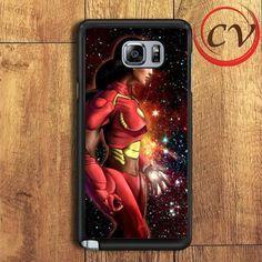 Princess Jasmine Superheroes In Nebula Samsung Galaxy Note 6 Case