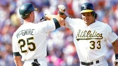 The Bash Brothers: Mark McGwire & Jose Canseco