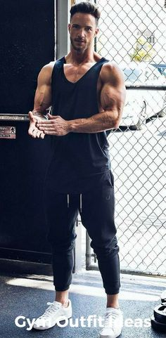 Mens Fitness: gym outfit ideas for men
