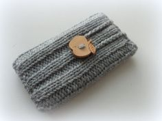 Hand Knitted Cell Phone Case Sock For iPhone4 iPhone5 by DachuksB, $9.00