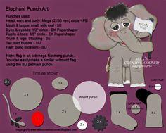 Alex's Creative Corner: Wish Big Elephant Card