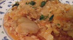Λαχανόρυζο Κοκκινιστό Grains, Rice, Chicken, Meat, Food, Essen, Meals, Seeds, Yemek