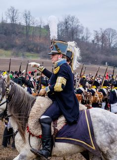 Austerlitz 2015 Traditional reenactment of Napoleon´s greatest victory of Austerlitz in 1805 - this year 2000 reenactors, 100 horses and 20 guns participated on this action.