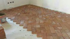 Terracotta Floor, Red Fox, Tile Floor, Tiles, Kitchen Cabinets, Cottage, Exterior, Flooring, Building