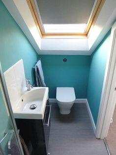 loft attic shower room plan at DuckDuckGo Attic Shower, Small Attic Bathroom, Attic Master Bedroom, Small Toilet Room, Tiny Bathrooms, Ensuite Bathrooms, Attic Rooms, Shower Rooms, Attic Conversion Plans