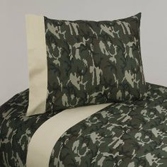 4pc Queen Sheet Set for Green Camo Bedding Collection by Sweet Jojo Designs by Sweet Jojo Designs. Save 29 Off!. $69.99. 1 Flat Sheet, 1 Fitted Sheet, 2 Pillow Cases. This design has matching accessories such as mobiles, lamp shades, window treatments and wall decor.. Queen Dimensions: Fitted Sheet (60in. x 80in.), Flat Sheet (90in. x 102in.) 2 Pillow Cases (20in. x 30in.). Machine Washable 100% Cotton sheet set with coordinating trim. See below for matching accessories.. Sweet Jojo Designs…