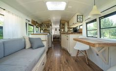 Expedition Happiness - home on a school bus