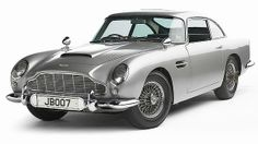 The Aston Martin DB5 driven by James Bond in Goldfinger and Thunderball.