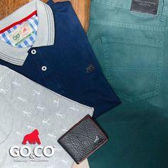 Visita nuestras tiendas y mira todas las nuevas ideas que puedes encontrar para tener tu pinta perfecta. ¡Pregunta por nuestros combos y llévate muy buenos descuentos! #BeGoco  #GocoIndia #Polos #T-Shirts #Pantalones Estamos en Envigado, Laureles y Guayabal  #LaMarcaDelGorila #BeGoCo #Casualwear #Style #MenCollection #menstyleguide #polos #mensfashion #mensclothing #stylegram #fashiongram #algodón #cotton #hechoencolombia